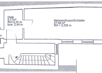 Immobilie Details Zentral in der Stadt! 1-Zimmer-Wohnung in Weilheim