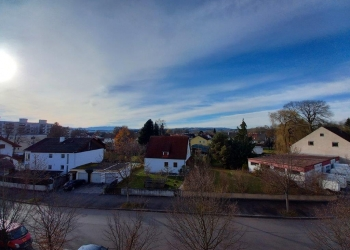 Blick zum Hohen Peißenberg