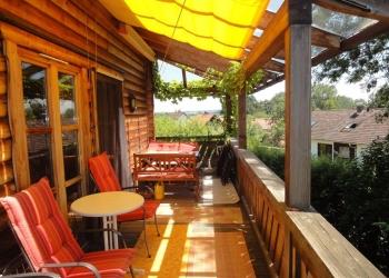 Immobilie Details Natürlich wohnen – Norwegisches Holzblockhaus in Peißenberg