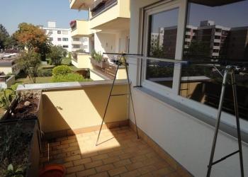 Balkon-Blick nach Westen