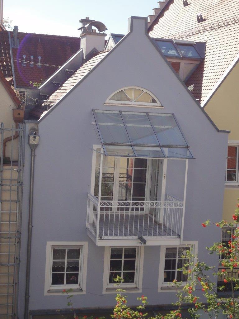 Ansicht Balkon