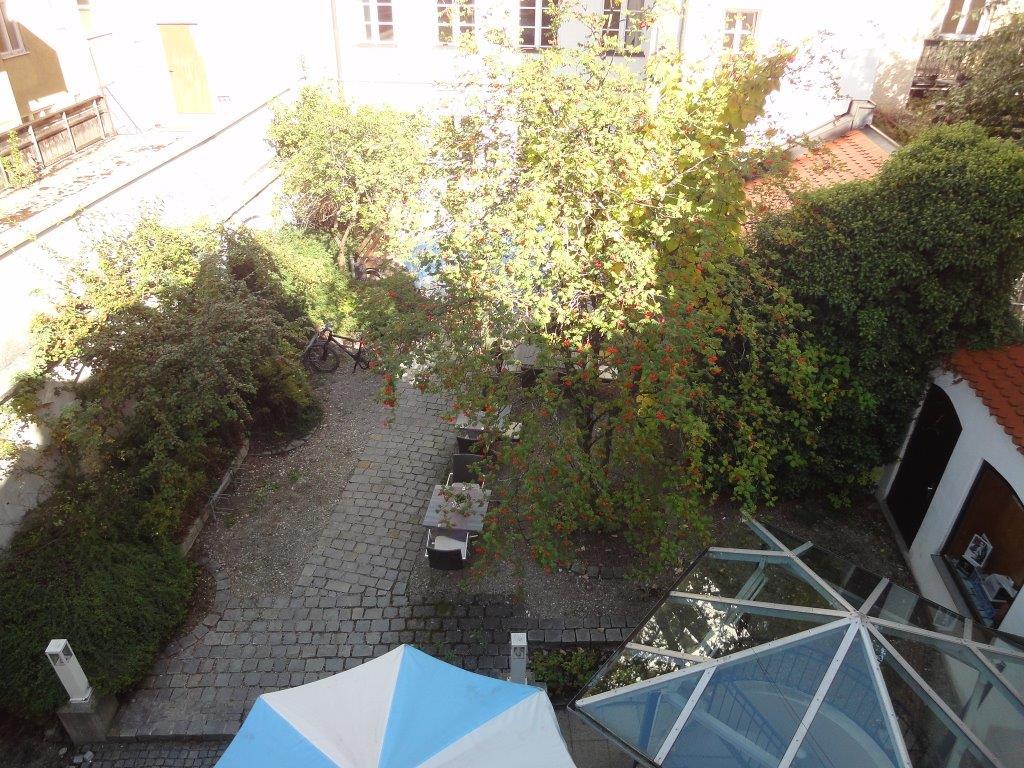 Ausblick Innenhof